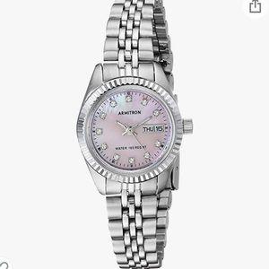 ARMITRON NOW MOP Swarovski Crystal Watch